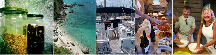 In Italy Tours Calabria Cooking and Sailing Tours